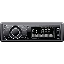 See Power AcoustikIn-Dash USB/SD/AUX Car Stereo Receiver with Remote Control and Detachable Faceplate Details
