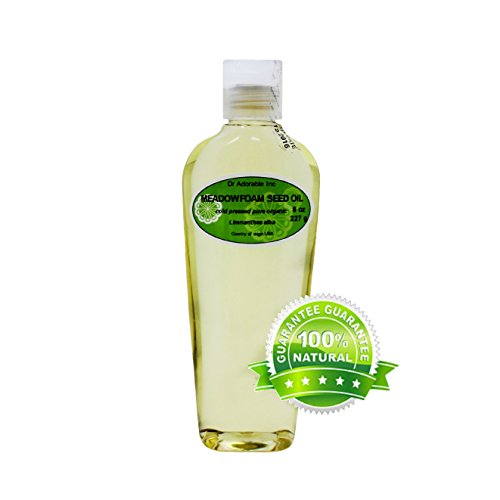 Meadowfoam Seed Oil Pure Organic by Dr.Adorable 8 Oz