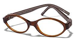 Vincent Chase Flex VC 8030 Brown Transparent C3 Kids' Eyeglasses (Kids 6-10 yrs)