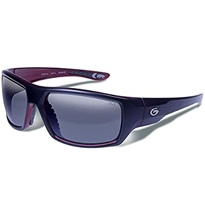 Gargoyles Performance Eyewear Wrath Polarized Safety Glasses, Matte Black Frame/Smoke with Silver Mirror Lenses