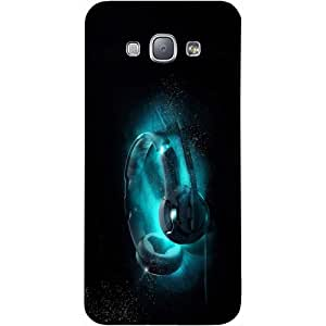 Casotec Cool Headphone Design Hard Back Case Cover for Samsung Galaxy A8