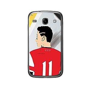 ezyPRNT Samsung Galaxy Core i8262 Mesut Ozil Football Player mobile skin sticker