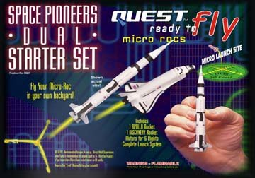 RTF Micro Space Pioneers Dual Starter Set HAZS