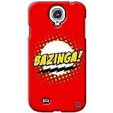 YP Bazinga Big Bang Theory Design Hard Back Case Cover For Samsung Galaxy S4 Mini