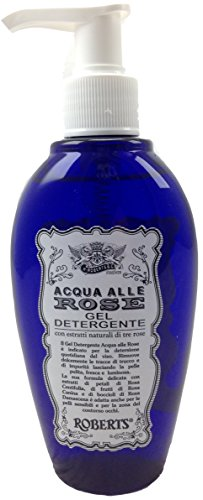 Roberts Acqua Alle Rose, Gel detergente purificante, 200 ml