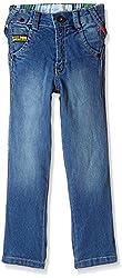 Little Kangaroos Baby Boys' Jeans (11137_Dark Blue_1 year)