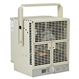 NewAir G73 Electric Garage Heater - Safe and Reliable Heat for 500 Sq Ft