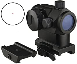 FSI Micro Red Dot Sight With QD Riser Mount Dual Layers of Glass4 MOA 11 Brightness Setting and come