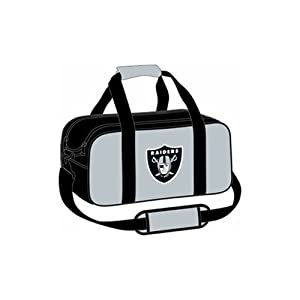 NFL Double Tote Bowling Bag- Oakland Raiders by KR Strikeforce Bowling Bags