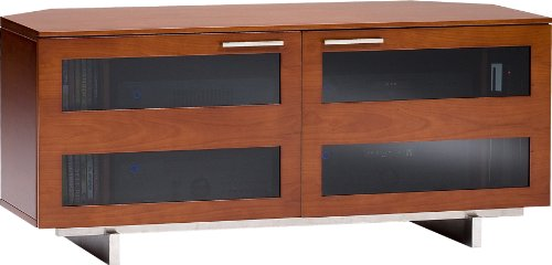 bdi-avion-8925-low-profile-corner-entertainment-cabinet-natural-stained-cherry