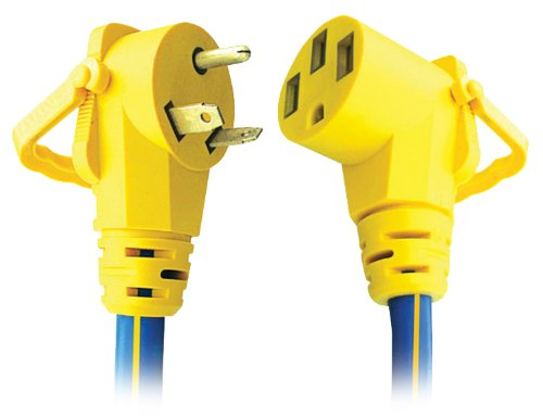 Voltec 16-00508 30 Amp Rv Extension Cord With E-Zee Grip - 25'