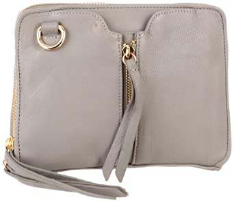 Kelsi Dagger Women's Chelsea Mini Cross-Body, Grey