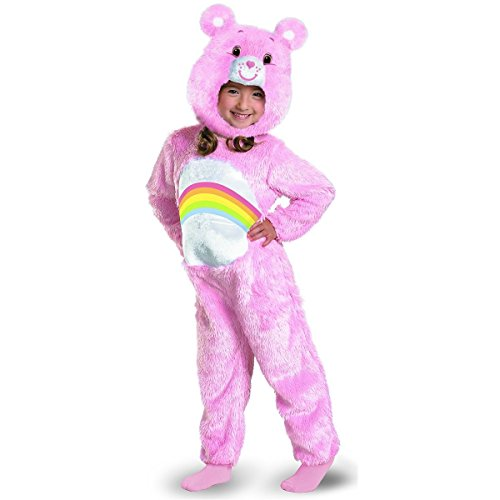 GSG Cheer Bear Plush Care Bears Toddler Baby Infant Girls Halloween Costume (Adult Care Bears Cheer Bear Costume)