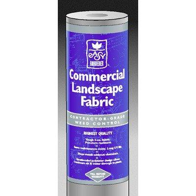 Easy Gardener 2504 3-Feet by 50-Feet Commercial Weed Barrier