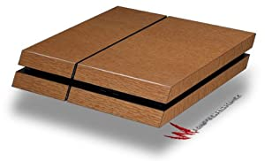 Wood Grain - Oak 02 - Decal Style Skin fits original PS4 Gaming Console