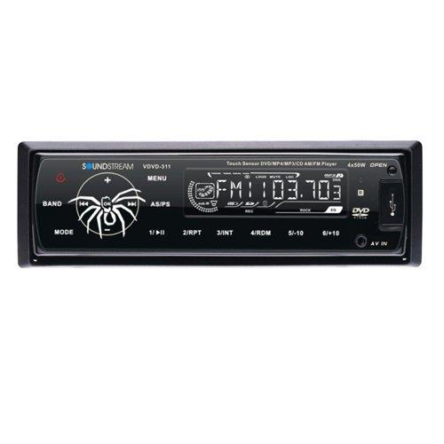 Soundstream Vdvd311 Single Din Dvd Player Am-Fm