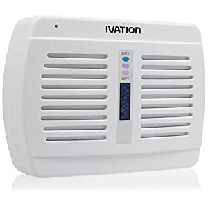 Ivation Renewable/Rechargeable Wireless Mini Dehumidifier