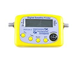 WS International Digital Satellite Finder with Built-in Compass - DSF120+C