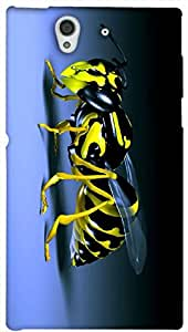 Timpax protective Armor Hard Bumper Back Case Cover. Multicolor printed on 3 Dimensional case with latest & finest graphic design art. Compatible with Sony L36H - Sony 36 Design No : TDZ-24085