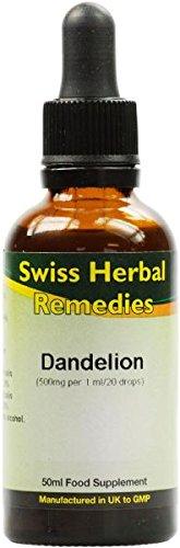 Les remèdes suisses pissenlit teinture, 50 ml