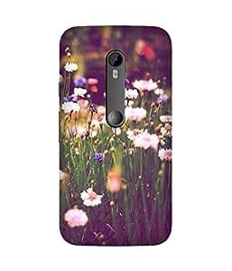Flower Fields Motorola Moto X3 Case