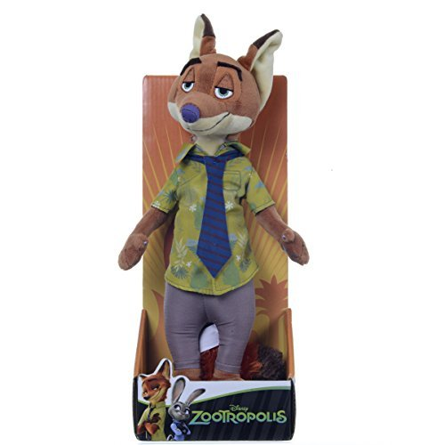 26cm Nick Wilde Zootropolis Soft Toy by Posh Paws