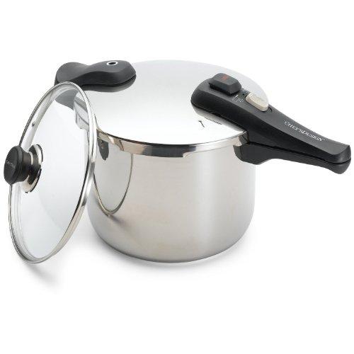 Chef's Design 10-7/8-Quart Stainless Steel Pressure Cooker (Chef Design Pressure Cooker compare prices)