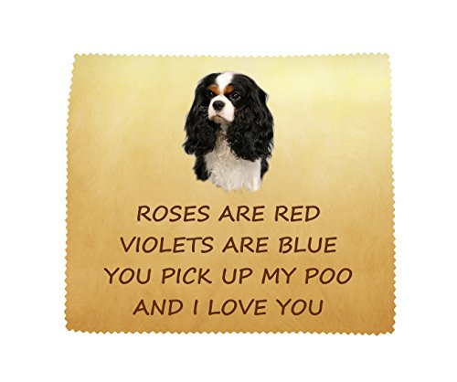 cavalier-king-charles-spaniel-tri-colour-i-love-you-microfibre-cloth-fun-novelty-gift-from-the-dog