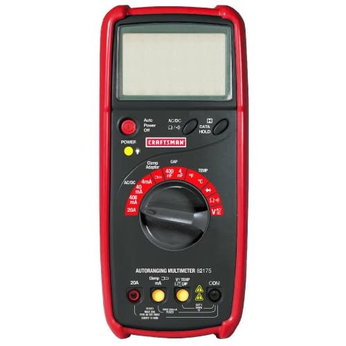 Craftsman Digital Multimeter : Amazon craftsman function autoranging
