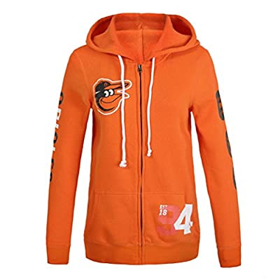 Womens Baltimore Orioles Pink Victoria's Secret Hoodie