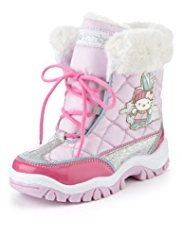 Hello Kitty Ankle High Snow Boots