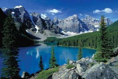 ポスター モレーン湖 II、バンフ Moraine Lake II, Banff