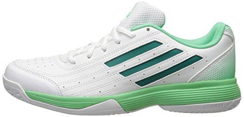 Adidas Performance Women's Sonic Attack Running Shoe,White/Equipment Green/Green Glow,10 M US