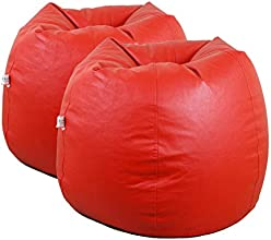 OHS Red Combo Bean Bag XXXL - Empty Cover