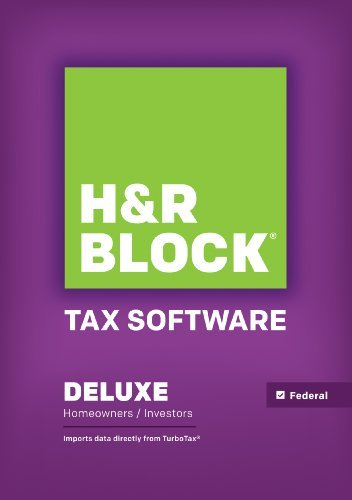 H&R Block Tax Software Deluxe 2014 (Hr Block Tax Software Mac 2014 compare prices)