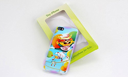 Heaven Child's Toy Cell Phone 8 Function with Lights and Sounds – Get YOUR cell phone back from your toddler.
