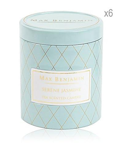 Max Benjamin Set x 6 Velas Serene Jasmine Tea