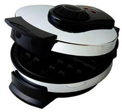 Sunbeam Products 3883 Waffle Maker, Belgian, Chrome & Black by Sunbeam Products