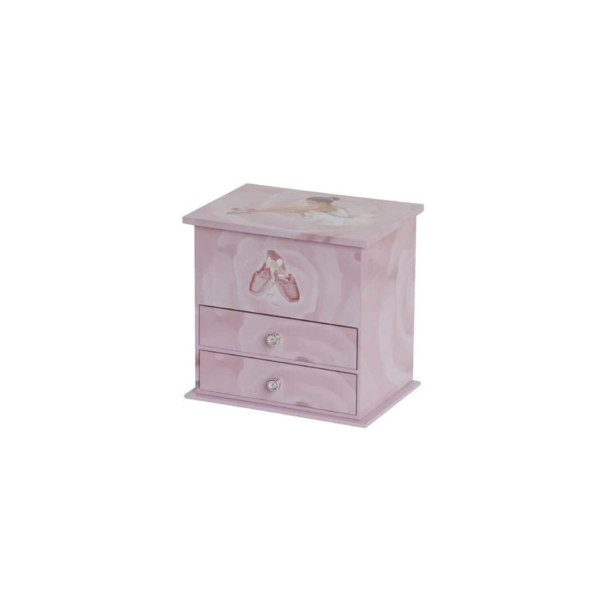 Mele & Co. Mele Casey Girls Musical Ballerina Jewelry Box - 6.88W x 6.63H in.
