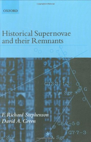 Historical Supernovae and their Remnants (International Series in Astronomy and Astrophysics)
