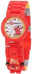 Lego Kids' 9004254 Ninjago Kai Minifigure Link Watch