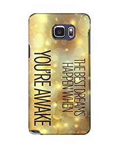 PickPattern Back Cover for Samsung Galaxy Note5