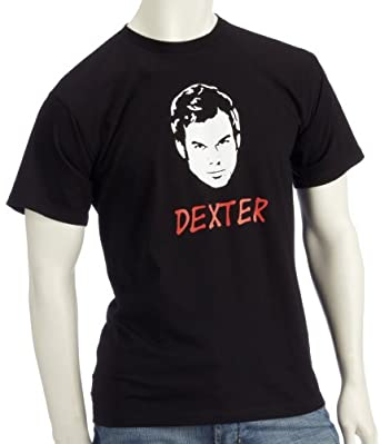Coole Fun T-Shirts Dexter T-Shirt Homme Noir S
