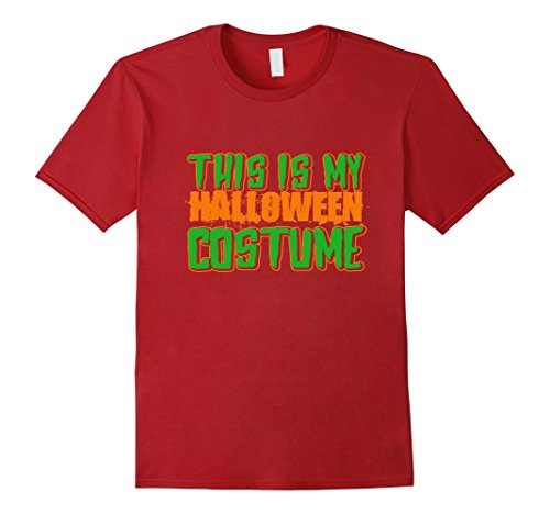 This Is My Halloween Costume T-Shirt Available in Men Women and Kids Sizes