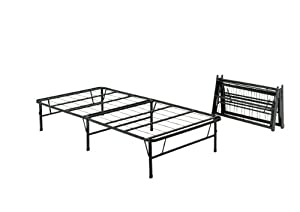 Pragma Bed Simple Base Quad-Fold Bed Frame, Twin X-Large
