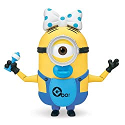 [Best price] Grown-Up Toys - Despicable Me 2 Build-A-Minion Baby Carl Deluxe Action Figure - toys-games
