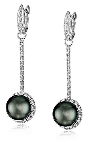 TARA-Pearls-Chandelier-Collection-Natural-Color-Black-Tahitian-Cultured-Pearl-Diamond-58cttw-G-H-Color-SI1-SI2-Clarity-Bar-Earrings