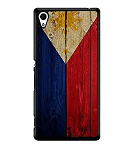 Fuson Premium 2D Back Case Cover Flag design With Multi Background Degined For Sony Xperia Z3+::Sony Xperia Z3 Plus