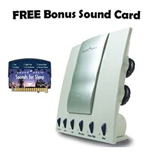 Sound Oasis Sound Therapy System with FREE Sounds for Sleep Sound Card