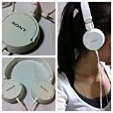 Sony MDR-ZX100 ZX Series Headphones 2 pack (White)